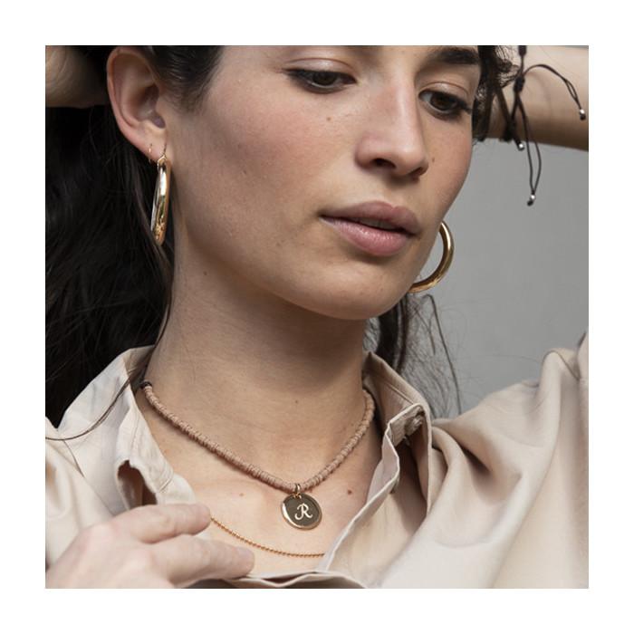 ALDARA - Collar dorado personalizable
