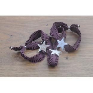 EDNA - Pulsera cinta rizada estrella
