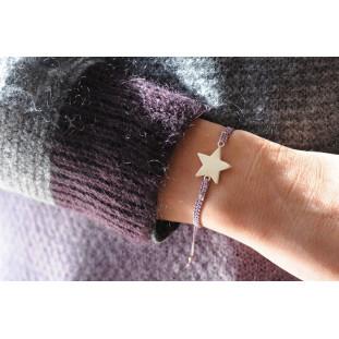 MAGNOLIA - Pulsera macramé estrella