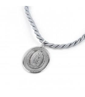 Collar medallón VIRGEN DE...