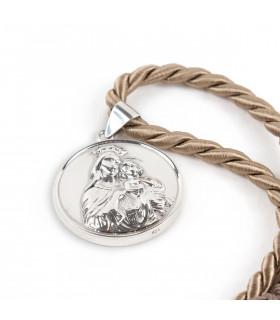 Collar medallón VIRGEN DEL CARMEN