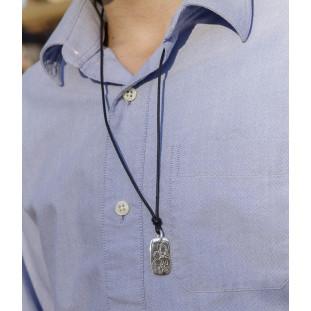 Collar VIRGEN CON EL NIÑO Rectangular