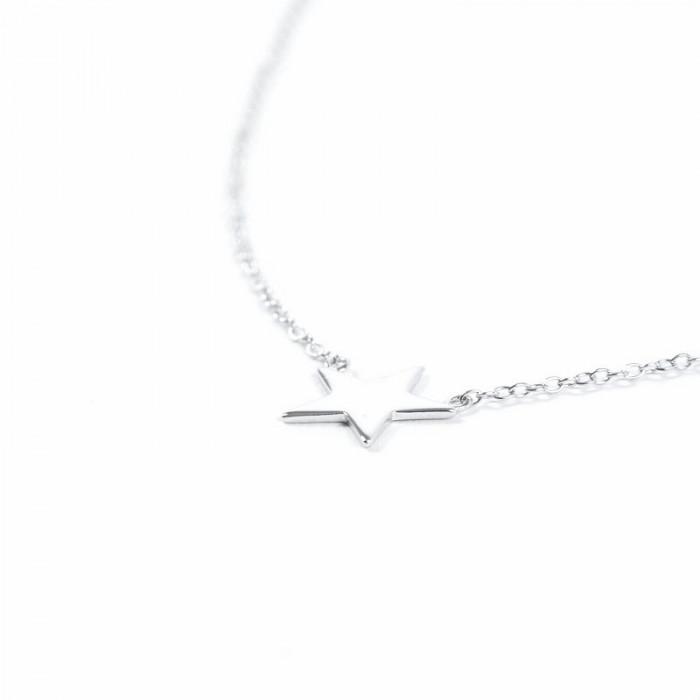 MAR - Estrella en cadena de plata