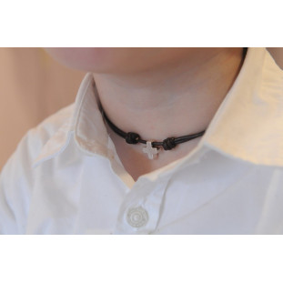 Collar Cruz mini