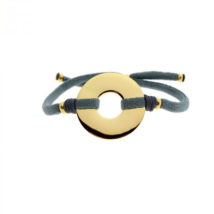 NIN - Pulsera Donut dorado 26 mm