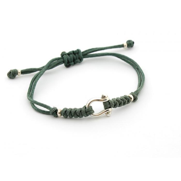 BRIDA - Pulsera herradura de plata