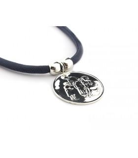 Collar medallón Sagrada...