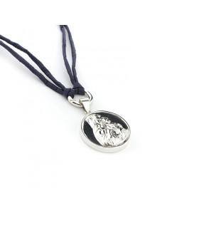 Collar largo medallón VIRGEN DEL CARMEN