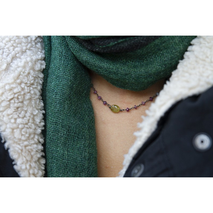 STONE - Collar piedras naturales