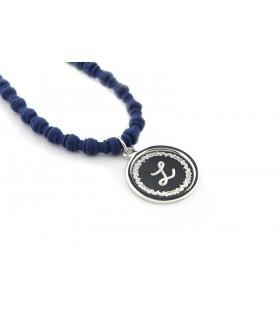 MAIA - Collar medalla con bisel personalizable