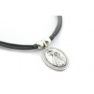 Collar medalla Virgen de Medjugorje - De la Paz