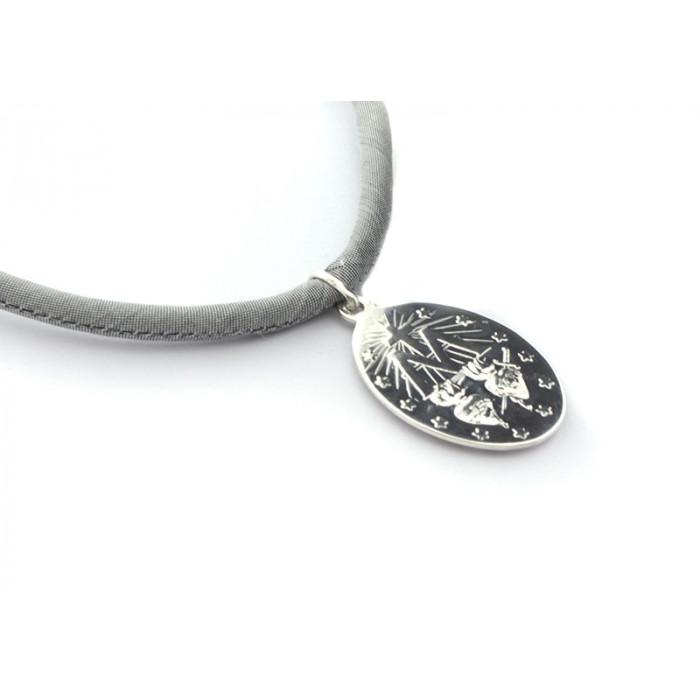 Collar medalla MILAGROSA