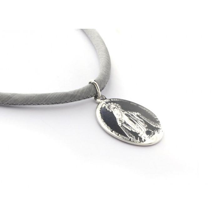 536faad1cd89 Collar medalla MILAGROSA