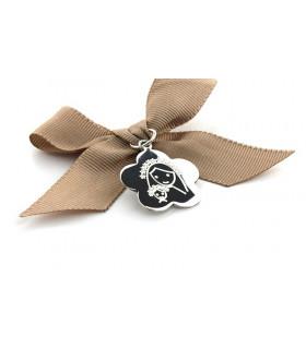 Medalla FLOR con lazo para...