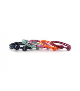 PACK 5 pulseras cordón marinero