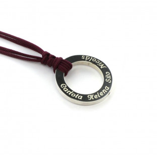 Collar donut hueco personalizable