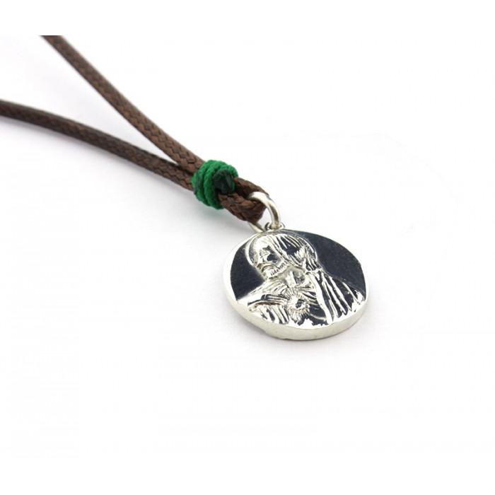 Collar escapulario MACIZO nudos 16 mm