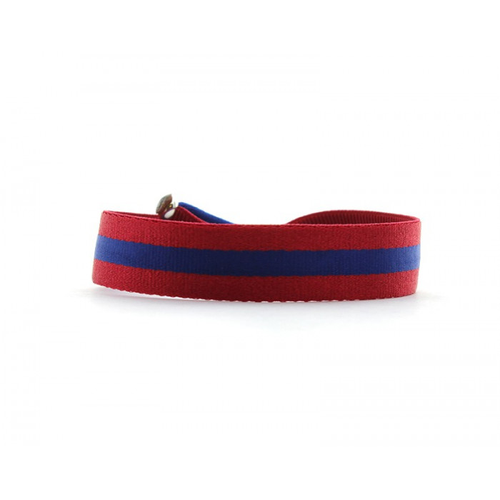 Pulsera bicolor cinta elástica