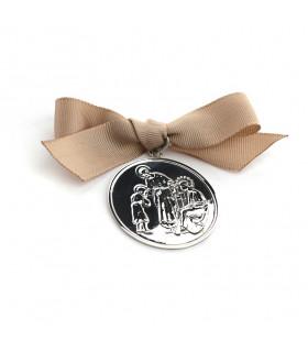 Medalla cuna SAGRADA FAMILIA