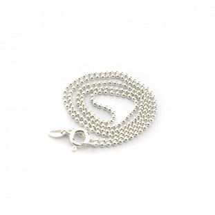 Collar cadena plata 40cm