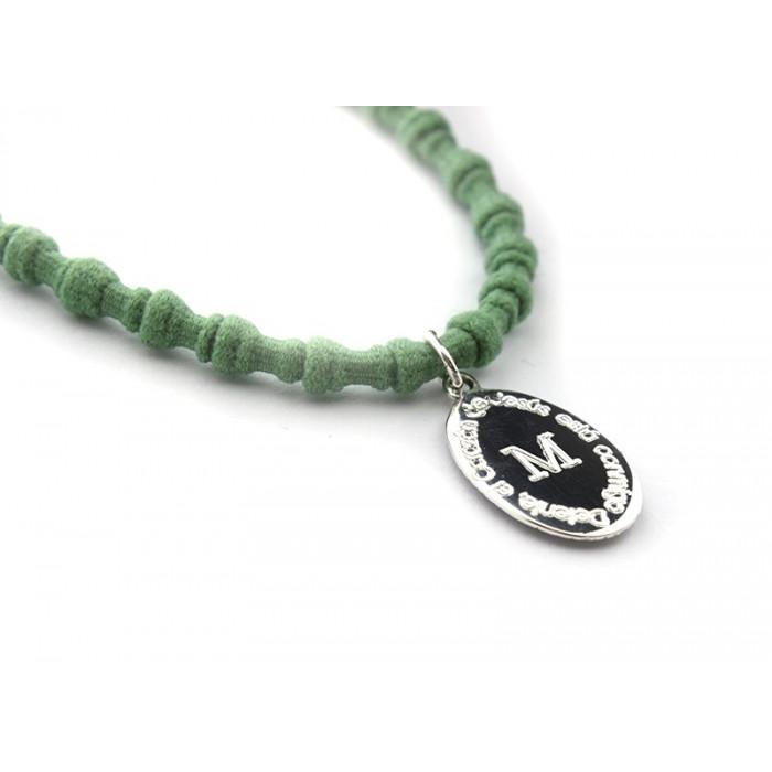 detente - Collar Sagrado Corazón plata o plata bañada