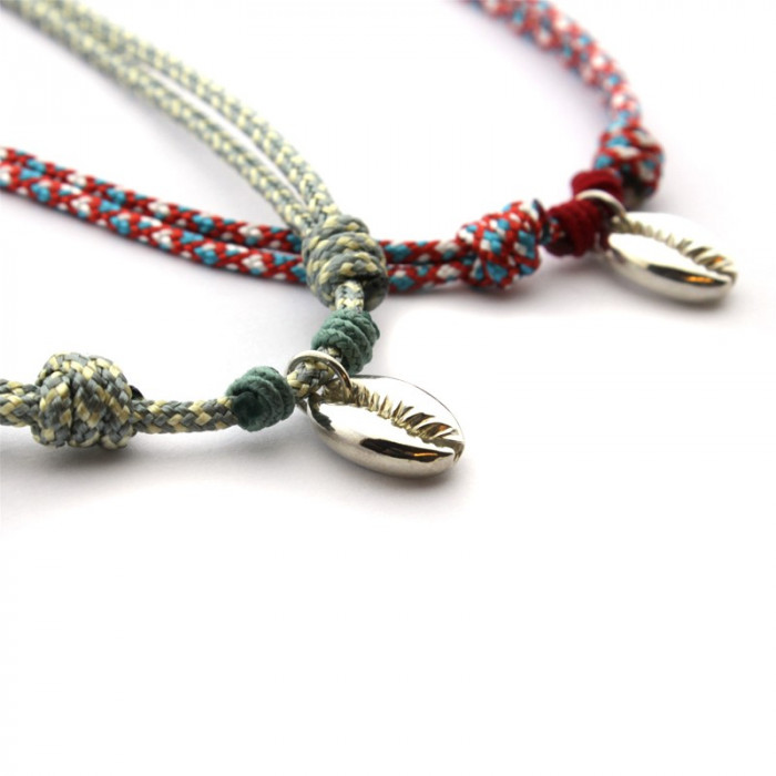 Collar SHELL plata