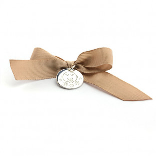 Medalla cuna con lazo