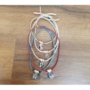 Collar MEDALLA VIRGEN - 2 bolas