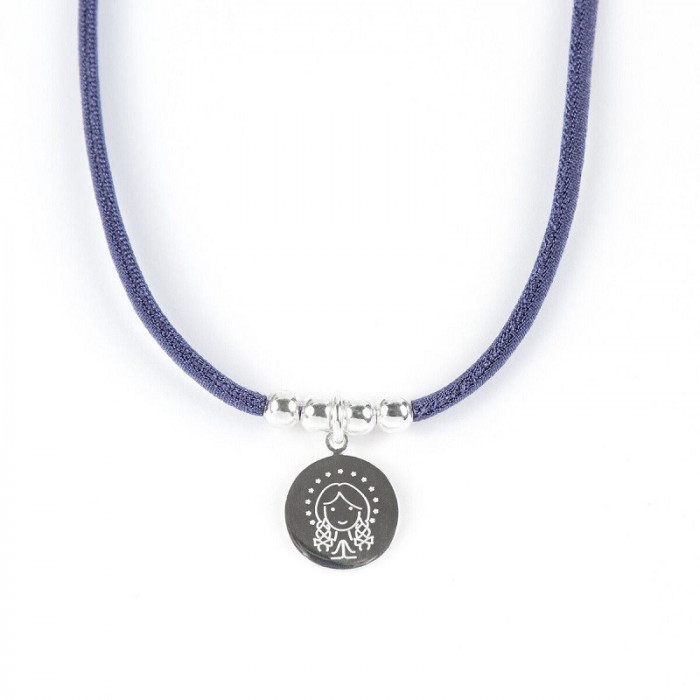 Collar MEDALLA VIRGEN - 4 bolas