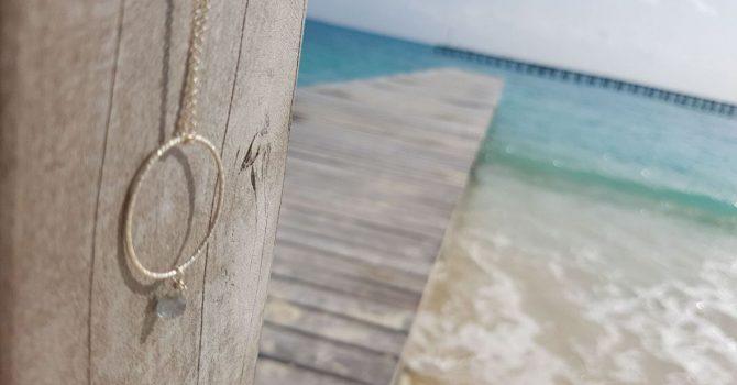 Plata Limpiar Joyas Verano Playa